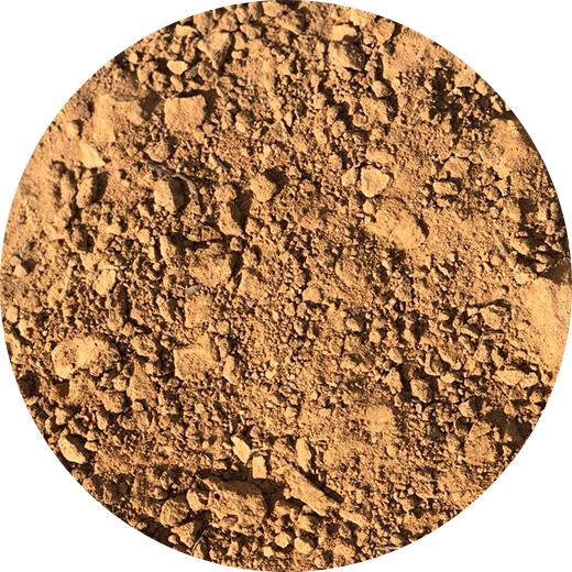 Limo, arenas, arcillas ocres e intercalaciones carbonatadas.